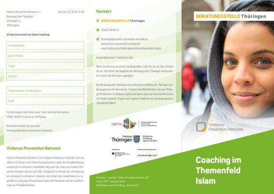 Flyer Beratungsstelle Thüringen – Coaching