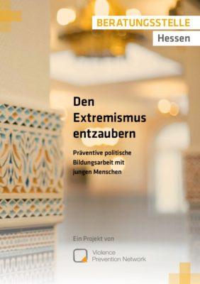 Broschüre Extremismus entzaubern DE