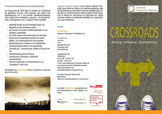 Flyer CROSSROADS DE