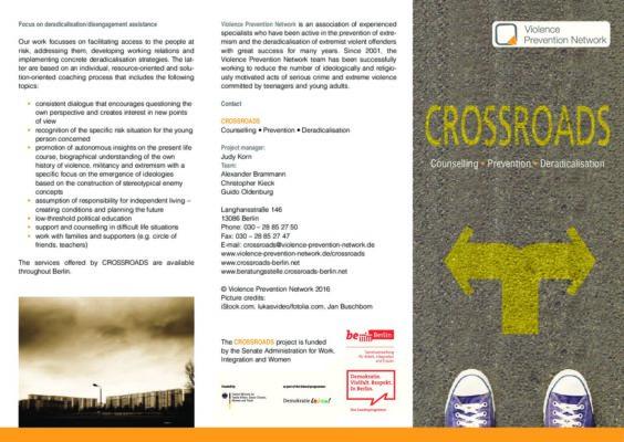 Flyer CROSSROADS EN