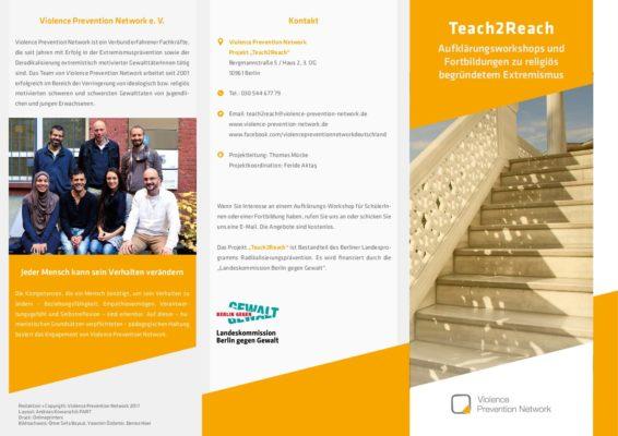 Flyer Teach2Reach