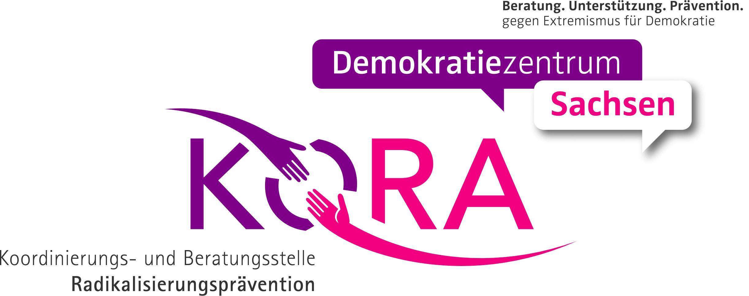 KORA Demokratiezentrum Sachsen Logo