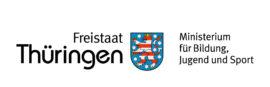 Thüringer Ministerium für Bildung, Jugend und Sport Logo