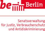 Berliner Senatsverwaltung für Justiz, Verbraucherschutz und Antidiskriminierung Logo