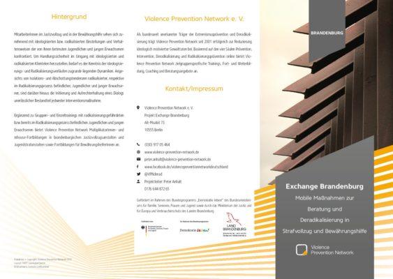Flyer Exchange Brandenburg