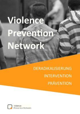 Broschüre Deradikalisierung, Intervention, Prävention