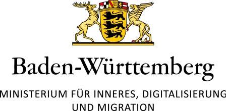 Baden-Württembergisches Ministerium für Inneres, Digitalisierung und Migration Logo