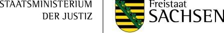 Sächsisches Staatministerium der Justiz Logo