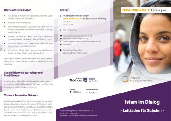 Beratungsstelle Thüringen – Islam im Dialog – Leitfaden für Schulen