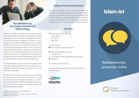 Flyer Islam-ist