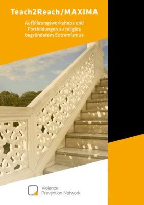 Broschüre Teach2Reach/MAXIMA