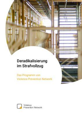 Broschüre Deradikalisierung im Strafvollzug DE
