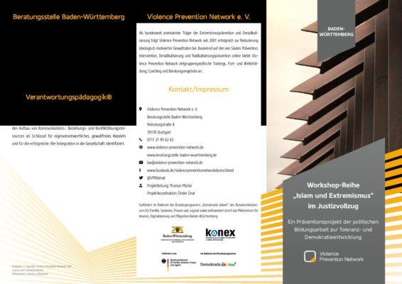 Flyer Präventions-Workshops Baden-Württemberg