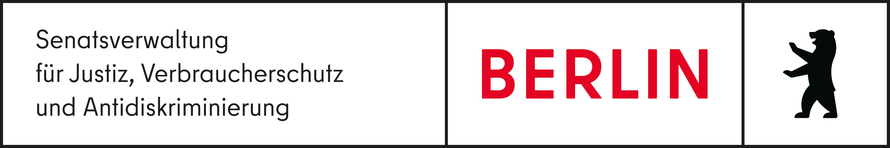 Logo der Senatsverwaltung für Justiz, Verbraucherschutz und Antidiskriminierung